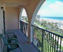 Ponce Inlet balcony