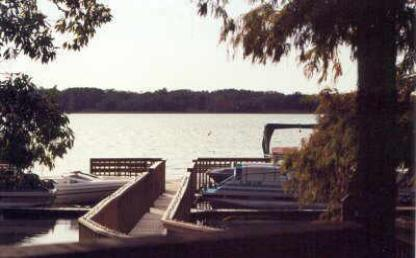 Winter Haven condo rental boat dock